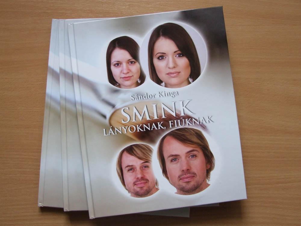 d46c443753 Smink lányoknak, fiúknak - Sándor Kinga smink könyve